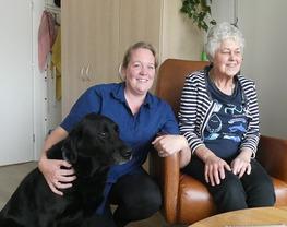 Dement en blind: 'de hulpvraag heeft raakvlakken'
